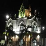 Igreja vista da praça