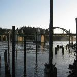 pilings left from the old ferry