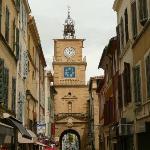 Street nearby the Museum of Nostradamus, Salon-de-Provence