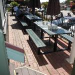 Front patio seating