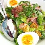 cos salad, amazing dressing!