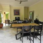 Dining Area attached to the Villa