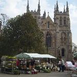 Selby Abbey & Market