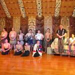 The cast of the Culture North Night show at Waitangi Treaty Grounds