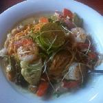 Thai Lemon Coconut Seafood Green Curry