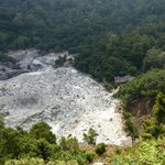 View of crater, Kawah Domas
