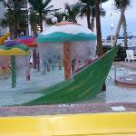 Splash pool! Clean!!
