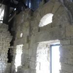 i resti della chiesa
