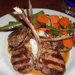 Lamb Chop perfection.