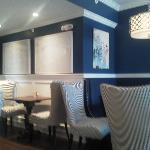 New decor is quite nice.