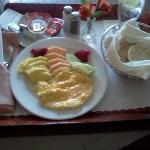 Room Service! Mmmmm The Best!!