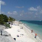la playa del hotel donde fue el day pass