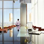 Bijou Bar at the Montreal Airport Marriott offers free Wireless and parking with purchase.