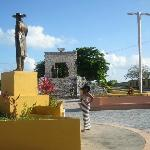 Monument in Cozumel