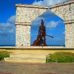 Statue in Cozumel