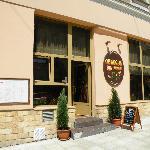 Exterior shot of Obsesja Smaku restaurant in Tarnow
