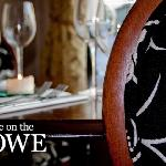 Inside dine on the Rowe