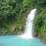 La magnifique chute au Rio Celeste