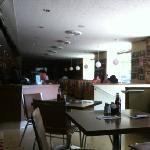 Old diner charm!