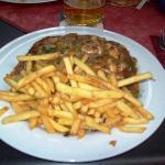 Their Jager Schnitzel