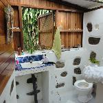 outdoor/indoor bath