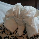 """""""Elephant"""" towel"""