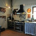 Wonderful farm kitchen