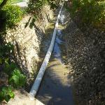 sewage ditch