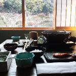 京野菜たっぷりの朝鍋