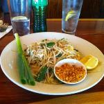 pad Thai - sweet and delicious. rice noodles cooked to perfection