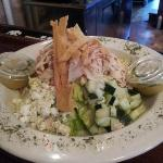 grilled chicken salad..delicious!