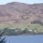 A view of Sithean from across Lochcarron