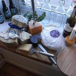 Our cheese board