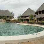 The poolside cottages
