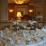 Mary Cassatt Tea Room - Private Party Area