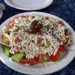 Greek Salad - fresh n crunchy