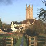 Cattistock Church and village