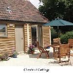 Outside Chestnut Cottage