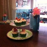 Homemade food and cakes made daily