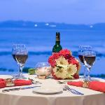 Private dinner Romance at Surfsong BVI
