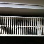 grille du radiateur rouilée
