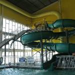 Indoor water park!