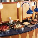 A superb lunch buffet!
