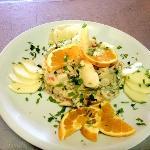Ensalada de frutos del mar