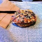 Blueberry Crunch Bagel