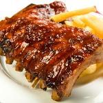 Babyback Ribs and Steak Fries