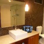 Large very clean bathroom