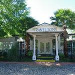 the pavillon next to the house