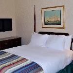 Newly renovated rooms and guest bathrooms