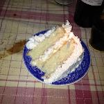 MRS'S LEVIE'S COCONUT CAKE.....Mmmm